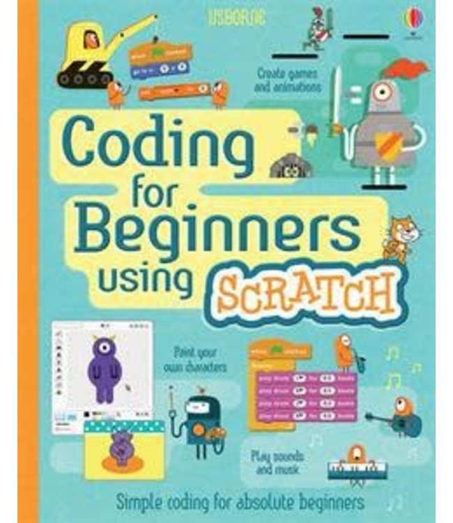 Usborne Coding for Beginners Using Scratch (IR)