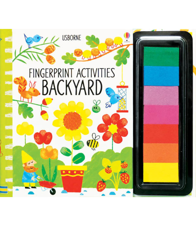Usborne Fingerprint Activities Backyard