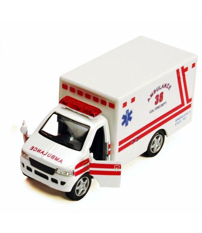 Toysmith Rescue Team Ambulance