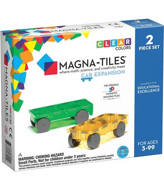 Magna-Tiles Magna-Tiles Cars 2 Piece Set