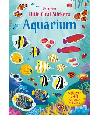 Usborne Little Sticker Books - Aquarium