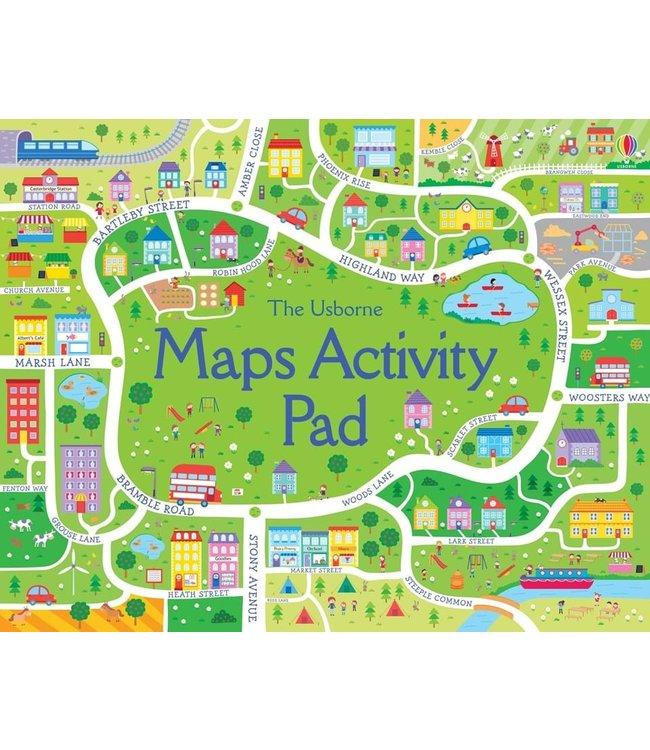 Usborne Maps Activity Pad
