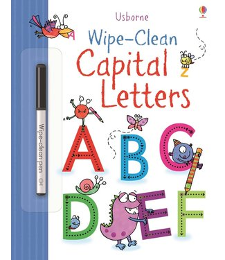 Usborne Wipe-clean Capital Letters