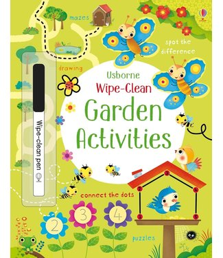 Usborne Wipe-Clean Garden Activities