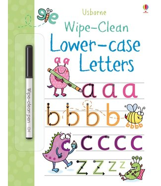 Usborne Wipe-clean Lower-case Letters