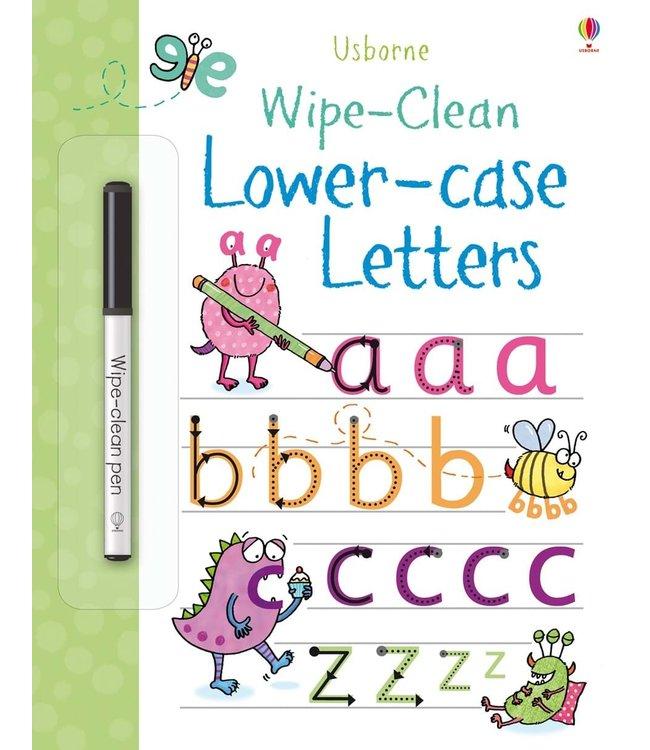 Usborne Wipe-clean Lower-case Letters
