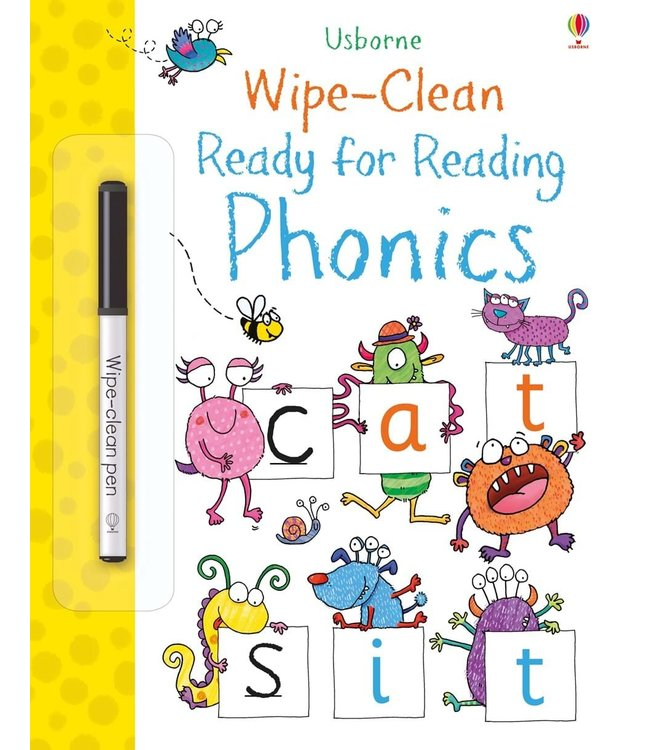 Usborne Wipe-Clean Ready for Reading Phonics