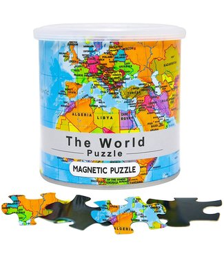 GeoToys Magnetic World Puzzle