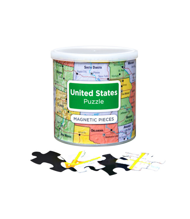 GeoToys USA Magnetic Jigsaw Puzzle
