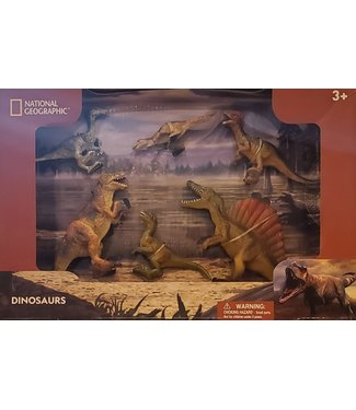 National Geographic 6pcs Dinosaurs