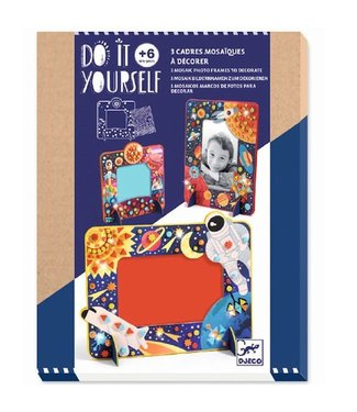 Djeco DIY- In Space Mosaic Frames