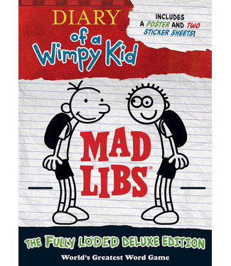 Penguin Publishing Mad Libs Diary of a Wimpy Kid