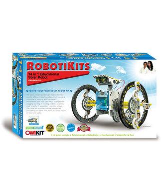 OWIKIT 14-in-1 Educational Solar Robot Kit