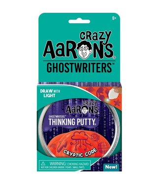 "Crazy Aaron Thinking Putty - 4"" Cryptic Code"