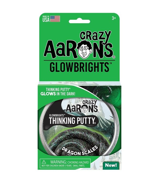 "Crazy Aaron Thinking Putty - 4"" Dragon Scales"