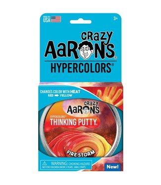 """Crazy Aaron Thinking Putty - 4"""" Firestorm"""
