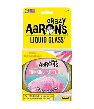 "Crazy Aaron Thinking Putty - 4"" Rose Lagoon"