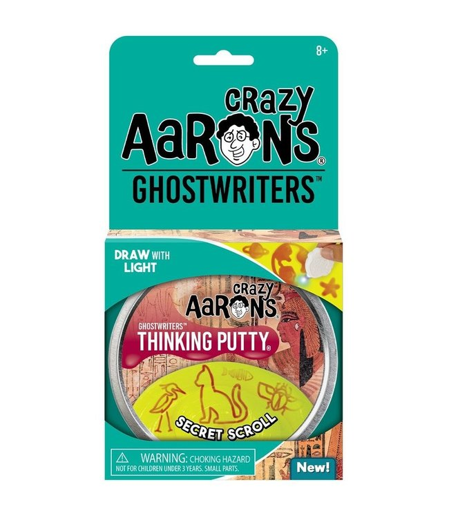 "Crazy Aaron Thinking Putty - 4"" Secret Scroll"