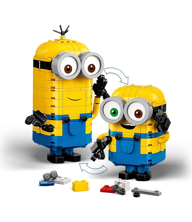 LEGO LEGO Brick-Built Minions and Their Lab - 75551