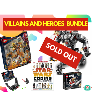 iSpark Toys Villains and Heroes Bundle