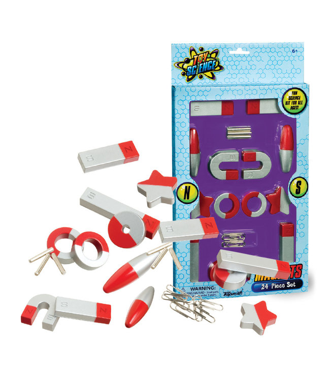 Toysmith Magnets 24 Piece Set