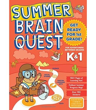 Summer Brain Quest: Between Grades K&1