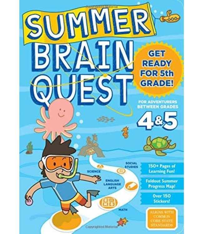 Summer Brain Quest: Between Grades 4&5