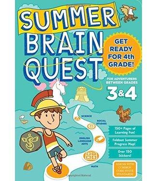 Workman Publishing Summer Brain Quest: Between Grades 3&4