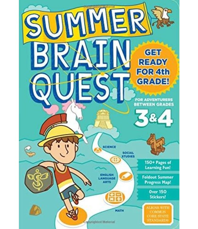 Workman Publishing Summer Brain Quest: Between Grades 3&4