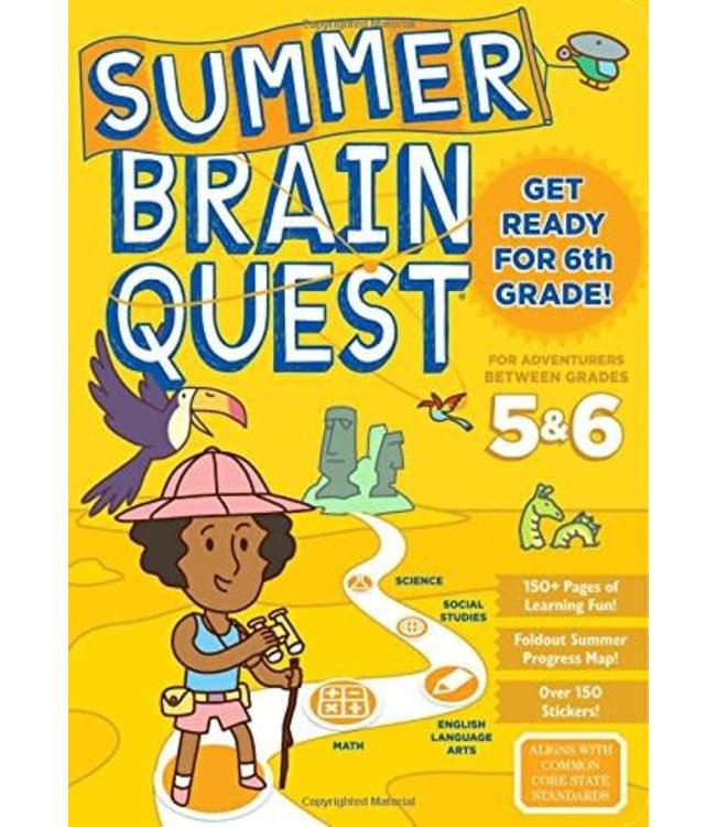 Workman Publishing Summer Brain Quest: Between Grades 5&6