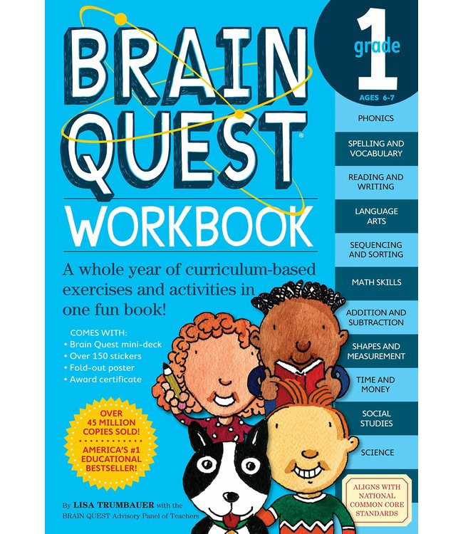 Workman Publishing Brain Quest Workbook: Grade 1