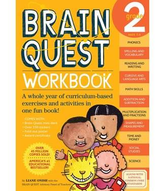 Workman Publishing Brain Quest Workbook: Grade 2