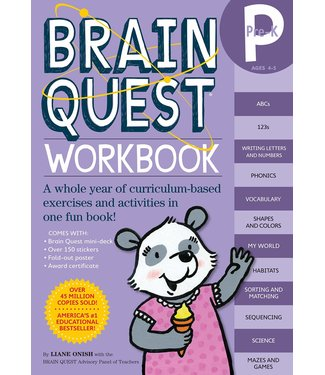 Workman Publishing Brain Quest Workbook: Pre K