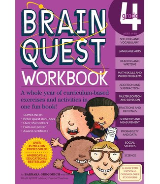 Workman Publishing Brain Quest Workbook: Grade 4