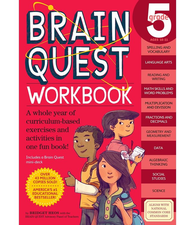 Workman Publishing Brain Quest Workbook: Grade 5