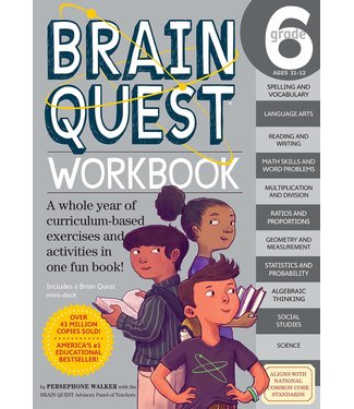 Workman Publishing Brain Quest Workbook: Grade 6