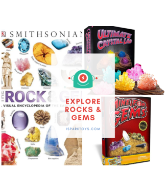 iSpark Toys Explore Rocks & Gems Bundle