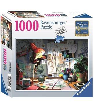 Ravensburger The Artist's Desk - 1000pc