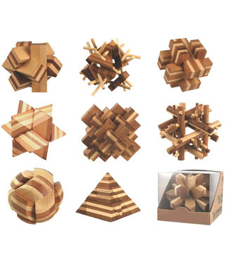 Bamboo Puzzle (Assorted)