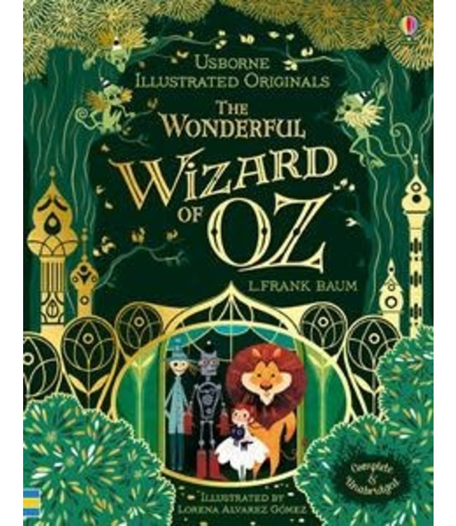 Usborne Illustrated Wizard of OZ