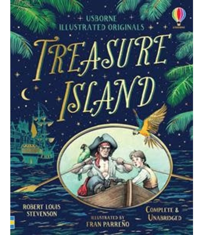 Usborne The Illustrated Treasure Island