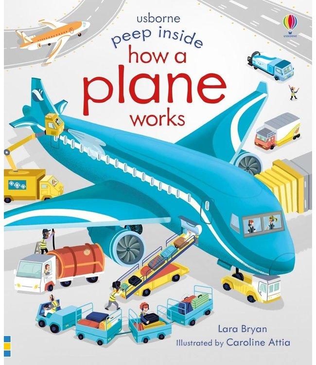 Usborne Peek Inside How a plane works
