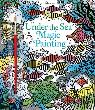 Usborne Magical Painting Book - Under the sea