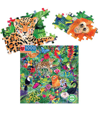 eeBoo Amazon Forest - 1000 Piece Puzzle