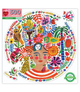 eeBoo Positivity - 500 Piece Puzzle
