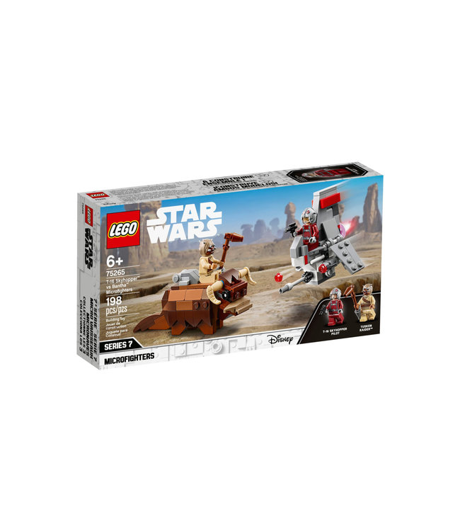 LEGO LEGO Star Wars T-16 Skyhopper vs Bantha Microfighters 75265