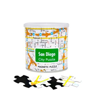 GeoToys City Magnetic Puzzle - San Diego