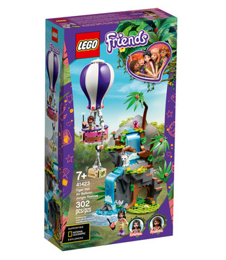 LEGO LEGO Friends Tiger Hot Air Balloon Jungle Rescue 41423