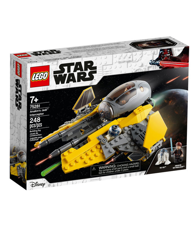LEGO LEGO Star Wars Anakin's Jedi Interceptor 75281