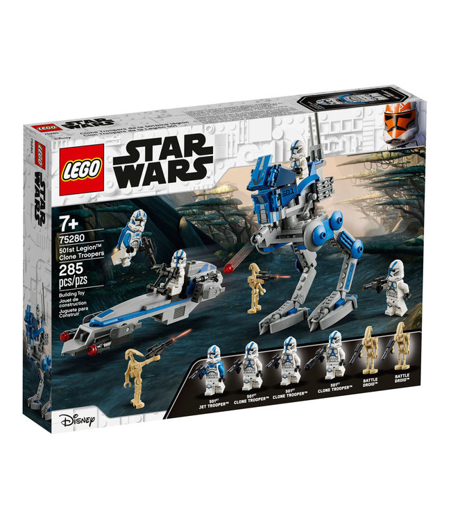 LEGO LEGO Star Wars 501st Legion Clone Troopers 75280